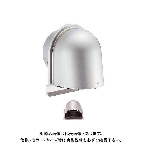 宇佐美工業 U型フード付ガラリ(開閉式) 溶接組立式 φ100 ヘアーライン (24ヶ入) UEV100SG-HL