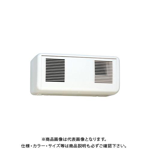宇佐美工業 壁用同時給排気型換気扇 ツインファン 10/12畳 ホワイト (1ヶ入) TTF-12W