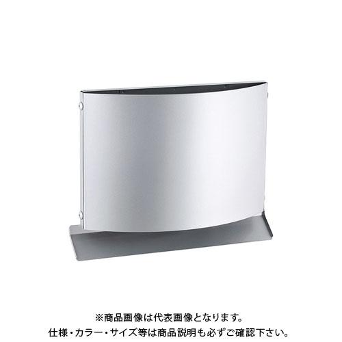 宇佐美工業 W型フード付ガラリ 上下開口型 φ100 ヘアーライン (12ヶ入) WEN100B-HL