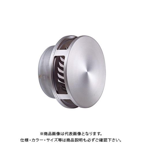 宇佐美工業 フラット型風防付ガラリ 溶接組立式 φ150 ヘアーライン(艶消クリヤー) (12ヶ入) FWN150S-HLP