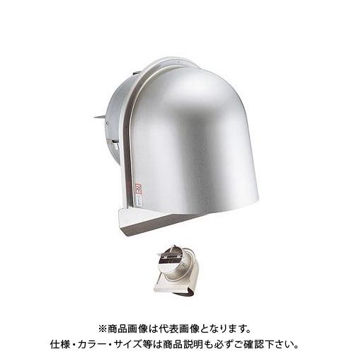 宇佐美工業 U型フード付ガラリ 溶接組立式 防火ダンパー付 φ75 ヘアーライン (36ヶ入) UGEN75SHD-HL