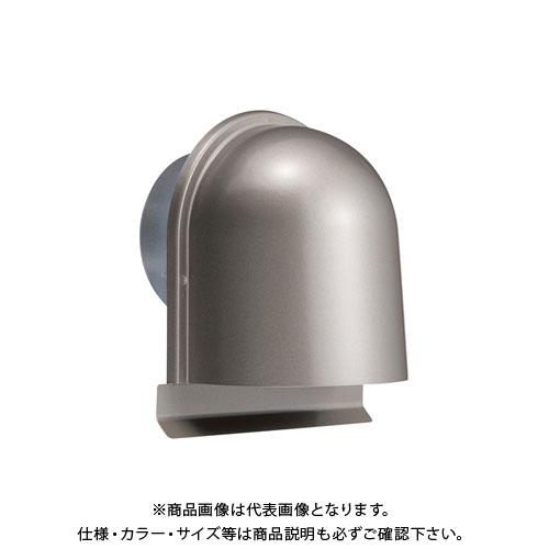 宇佐美工業 U型フード付ガラリ 溶接組立式 S4タイプ φ100 メタリックブラウン (24ヶ入) UGEN100S4-MB