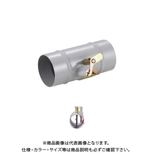 【運賃見積り】【直送品】宇佐美工業 鉄製 中間用防火ダンパー 強制給排気口用部品 (1ヶ入) PD-B250-SPC