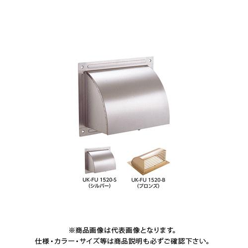 宇佐美工業 床下換気口 角型フード クリアー(アクリル塗装) (20入) FU1520-S
