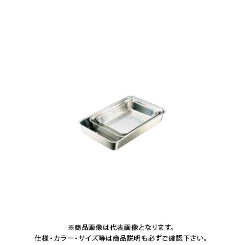 TKG 遠藤商事 エコクリーン IKD18-8角バット 3枚取 AEK3201 6-0132-0401