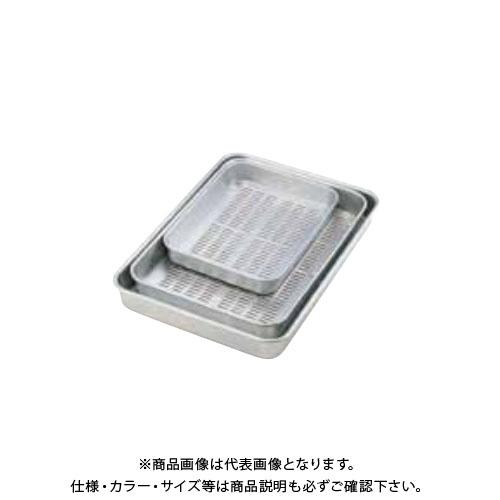 TKG 遠藤商事 アルマイト 穴明大型バット ジャイアント ABT23023 7-0134-0201