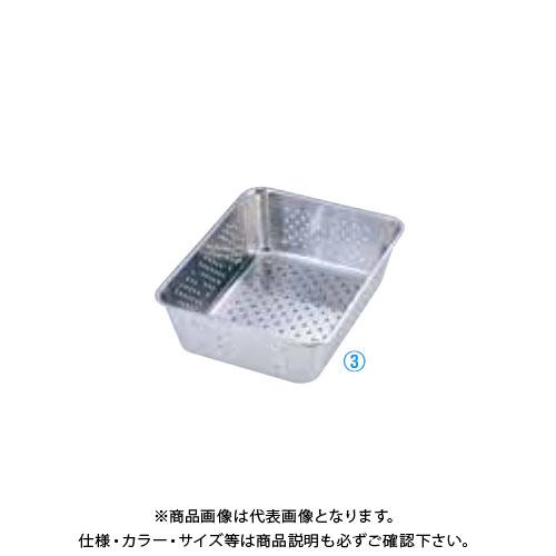 TKG 遠藤商事 エコクリーン UK18-8野菜水切りバット 6枚取 AEK2601 6-0136-0301