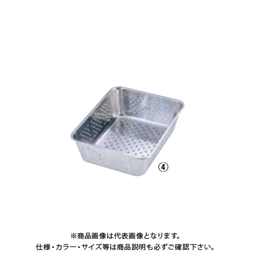 TKG 遠藤商事 18-8野菜水切りバット 6枚取 ABTE306 7-0136-0404