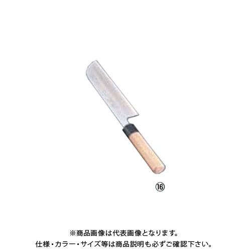 TKG 遠藤商事 SA佐文 青鋼 鎌型薄刃 18cm ASB49018 7-0279-1601
