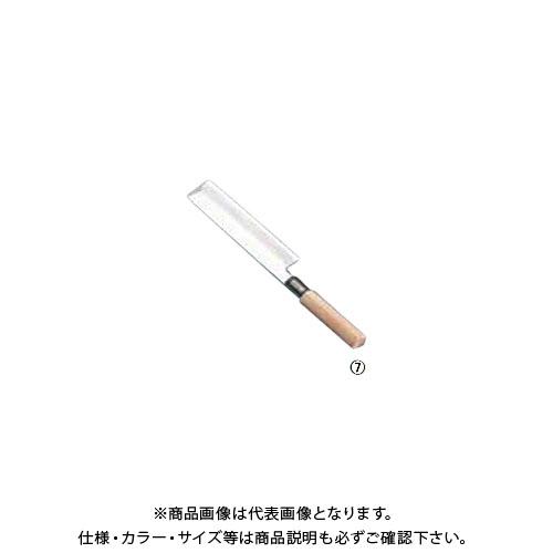 TKG 遠藤商事 SA佐文 薄刃(木製サヤ付) 19.5cm ASB16019 7-0280-0701
