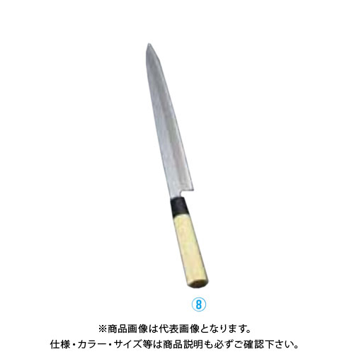 TKG 遠藤商事 堺實光 匠練銀三 刺身(片刃) 27cm 37553 AZT3203 6-0273-0803