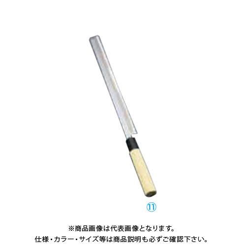 TKG 遠藤商事 堺實光 匠練銀三 蛸引(片刃) 27cm 37564 AZT3503 7-0281-1103