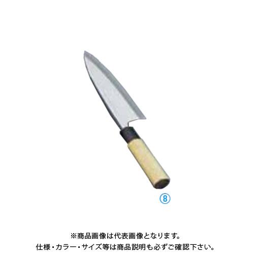 TKG 遠藤商事 堺實光 上作 出刃(片刃) 13.5cm 17531 AZT2902 7-0282-0802