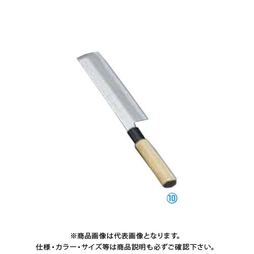 TKG 遠藤商事 堺實光 上作 薄刃(片刃) 19.5cm 17513 AZT3103 7-0282-1003