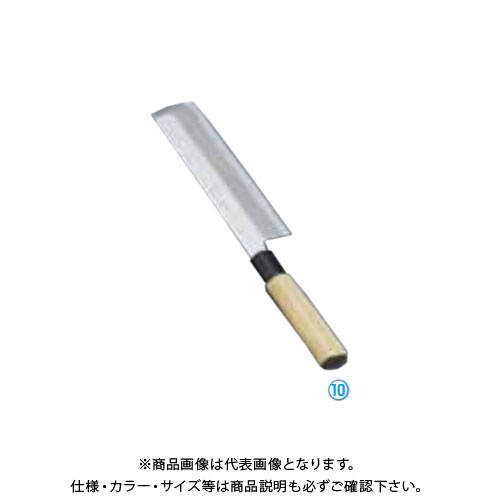 TKG 遠藤商事 堺實光 上作 薄刃(片刃) 21cm 17514 AZT3104 7-0282-1004