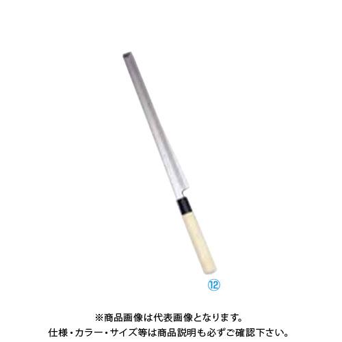 TKG 遠藤商事 堺實光 特製霞 蛸引(片刃) 21cm 34412 AZT5901 7-0282-1201