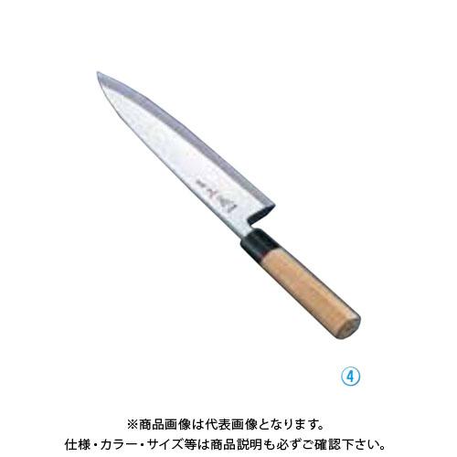 TKG 遠藤商事 正本 本霞・玉白鋼 相出刃庖丁 24cm AMS41024 7-0283-0403