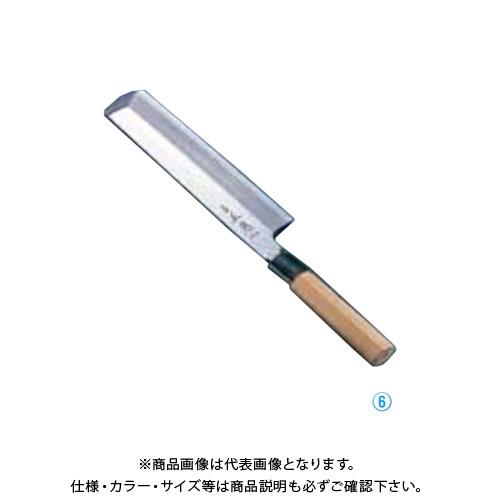 TKG 遠藤商事 正本 本霞・玉白鋼 東型薄刃庖丁 21cm AMS43021 7-0283-0603