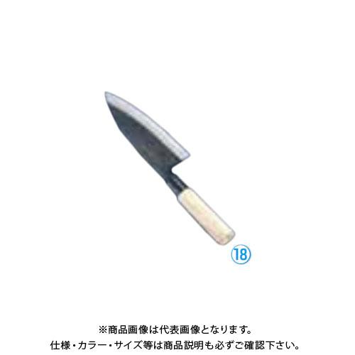 TKG 遠藤商事 堺 菊守 黒出刃 18cm AKK2118 6-0276-1805