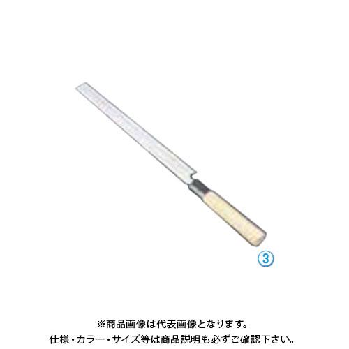 TKG 遠藤商事 堺孝行 シェフ和庖丁 銀三鋼 蛸引 33cm ASE03026 7-0285-0304