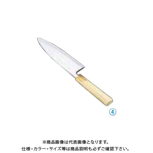 TKG 遠藤商事 堺孝行 シェフ和庖丁 銀三鋼 出刃 15cm ASE04035 6-0277-0401