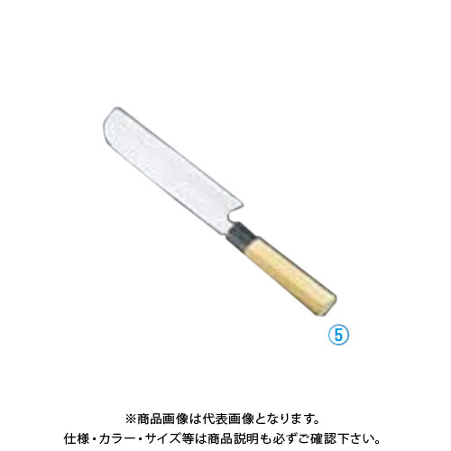 TKG 遠藤商事 堺孝行 シェフ和庖丁 銀三鋼 鎌型薄刃 19.5cm ASE05054 6-0277-0502