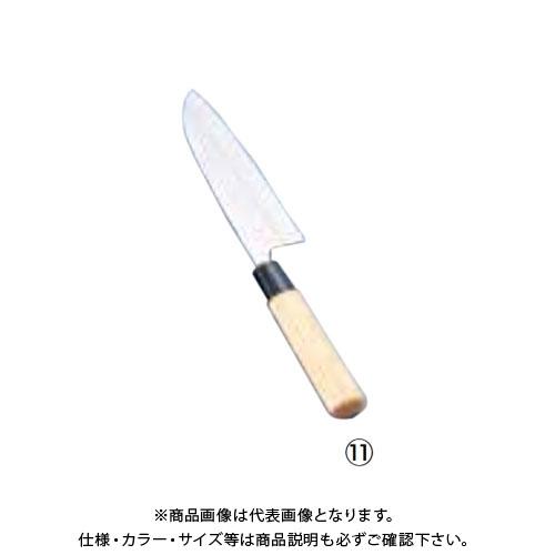 TKG 遠藤商事 ステンレス鋼 防菌柄 三徳(両刃) 16.5cm ABU0701 6-0279-1101