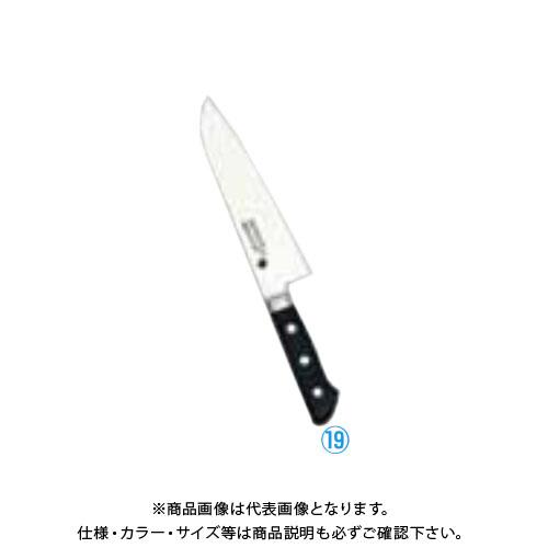 TKG 遠藤商事 堺實光 プレミアムマスターII(ツバ付) 三徳 18cm AZT8501 6-0282-1901