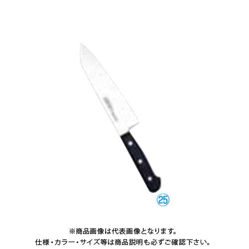 TKG 遠藤商事 堺實光 STD抗菌PCツバ無 三徳 18cm 51254 AZT7801 7-0291-2501