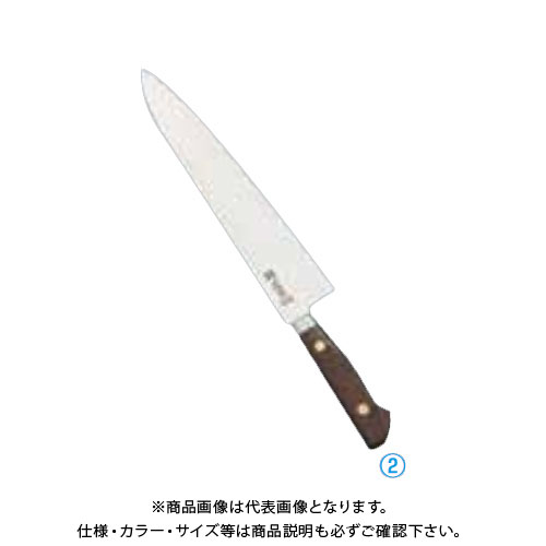 TKG 遠藤商事 正本 最高級炭素鋼 牛刀 24cm AMS77024 6-0283-0203