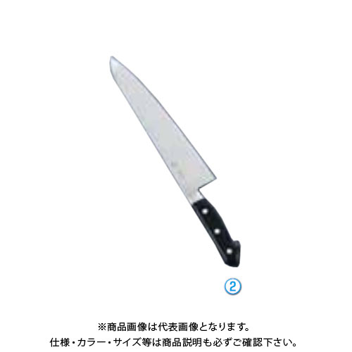 TKG 遠藤商事 堺菊守日本鋼(口金付)牛刀 21cm AKK5302 7-0296-0202