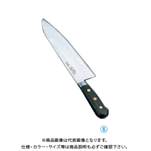 TKG 遠藤商事 ミソノ・スウェーデン鋼 洋出刃 No.153 27cm AMS08153 7-0293-0604