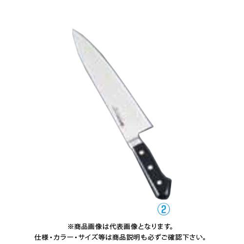 TKG 遠藤商事 ミソノモリブデン鋼 牛刀 No.512 21cm AMS26512 7-0294-0203