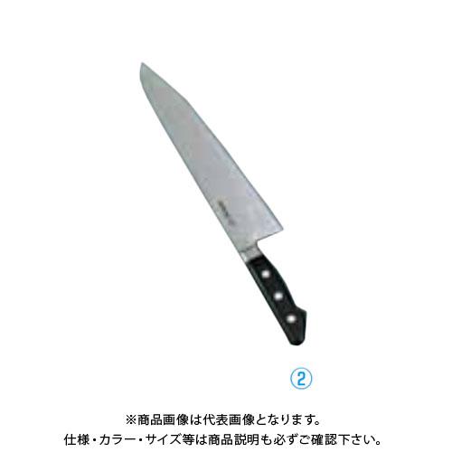 TKG 遠藤商事 堺孝行 日本鋼(ツバ付)牛刀 21cm ANH02021 7-0298-0202