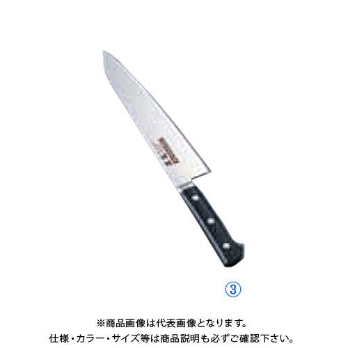 TKG 遠藤商事 正広 MV-H シェフナイフ 24cm 14912(プラ柄) AMSL003 6-0289-0303
