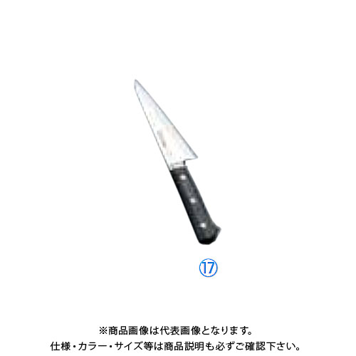 TKG 遠藤商事 正広作 MV鋼本焼 骨スキ(角)(片刃) 14806 15cm AMSI501 6-0289-1701