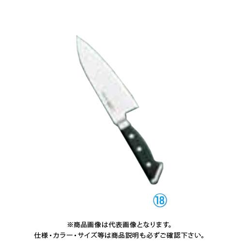 TKG 遠藤商事 グレステンWタイプ 洋出刃 224WK 24cm AGL15224 6-0291-1803