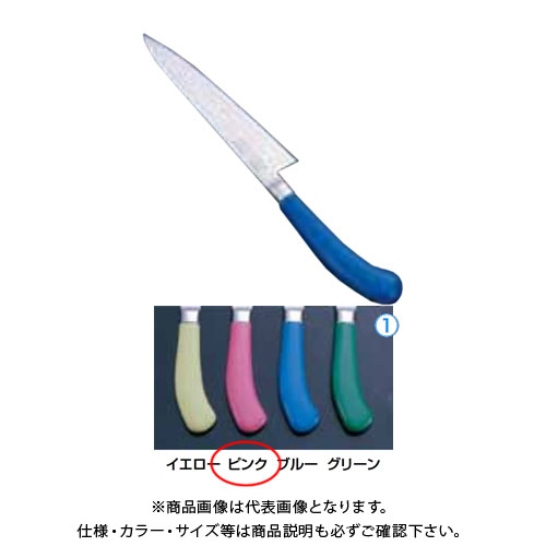 TKG 遠藤商事 エコクリーンTKG PROペティーナイフ 15cm ピンク AEK4706 7-0316-0504