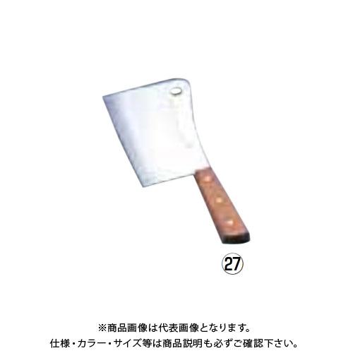 TKG 遠藤商事 クレーバーナイフ 全鋼 AKL04 7-0322-2501