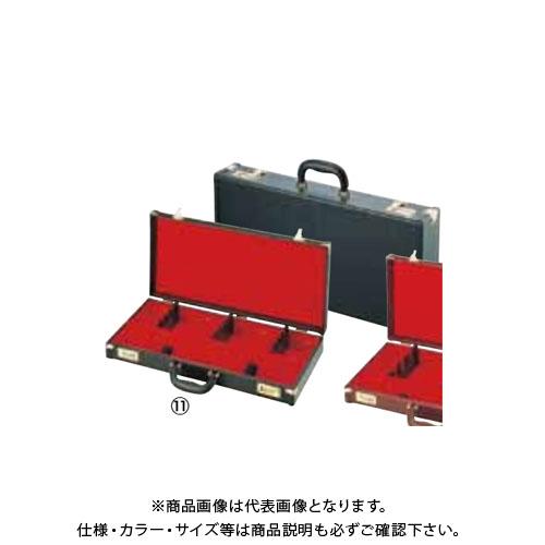 TKG 遠藤商事 レザー張り庖丁ケース(ダイヤル式) 洋食用 黒 8丁入 AHU15 7-0339-0801