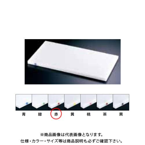 【運賃見積り】【直送品】TKG 遠藤商事 住友 抗菌スーパー耐熱まな板 カラーピン付 SSTWP 赤 AMNB817 6-0329-0210
