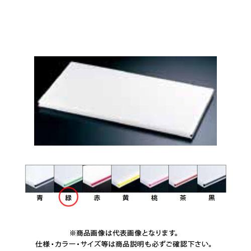 【運賃見積り】【直送品】TKG 遠藤商事 住友 抗菌プラまな板 カラーライン付 緑 20SOL 60×30×H2cm AMNC209 6-0330-0309