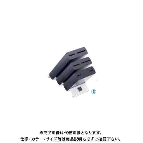TKG 遠藤商事 ヴォストフ ナイフブロック ブラック 7250 ADLO901 6-0348-0601