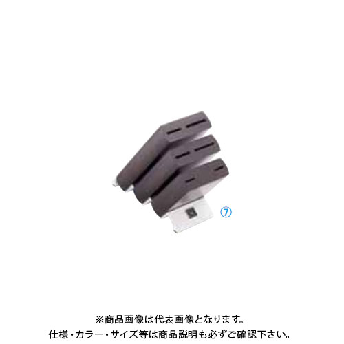 TKG 遠藤商事 ヴォストフ ナイフブロック ブラウン 7251 ADLP101 6-0348-0701