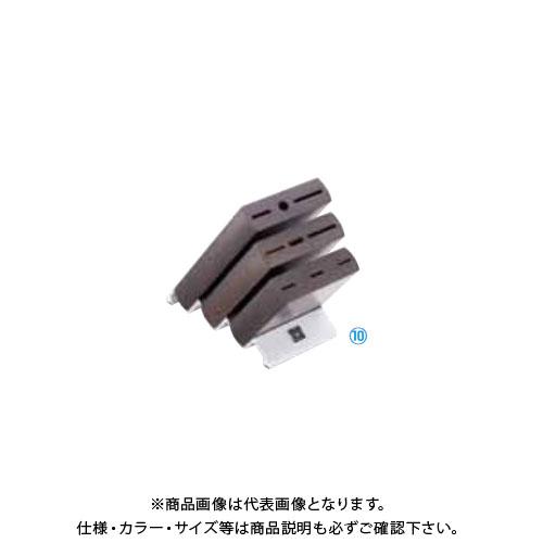 TKG 遠藤商事 ヴォストフ ナイフブロック ブラウン 7255 ADLP201 6-0348-1001