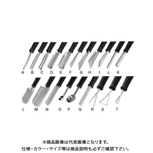 6-0498-1101 トライアングル カービングセット BKC2201 遠藤商事 アーティスト(20本組) TKG