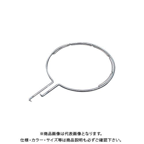 【受注生産品】浅野金属 ステンレス製玉枠標準型丸型(内金入)7×450 (5本) AK8236