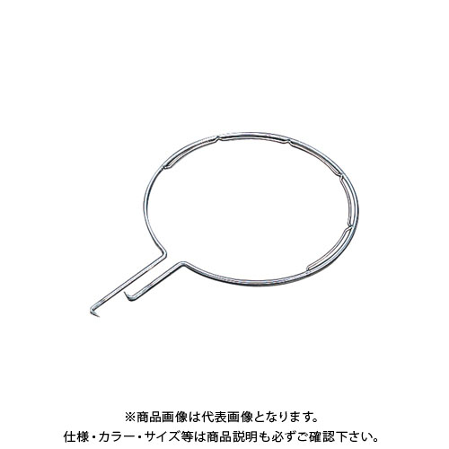 【受注生産品】浅野金属 ステンレス製玉枠標準型丸型(内金入)6×510 (5本) AK8245