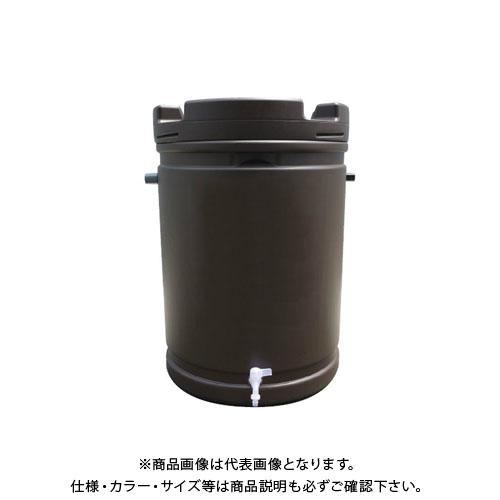 【直送品】安全興業 雨水タンク 茶色 835×580mm (1入)