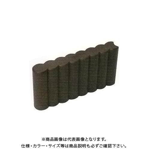 【直送品】安全興業 ガーデンプラブロック スリム 370×60×190mm (40入)